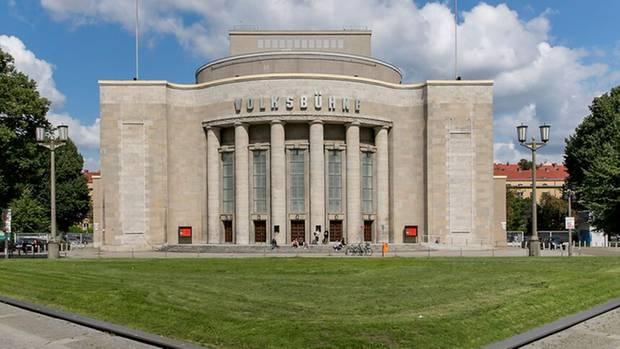 """Volksbühne Berlin"" am Rosa-Luxemburg-Platz"