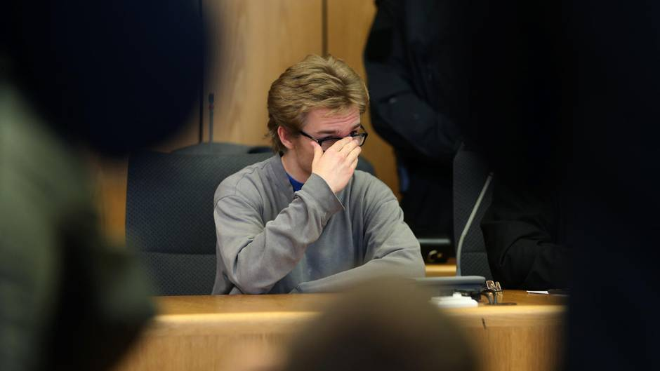 Der Angeklagte Marcel H. im Bochumer Landgericht