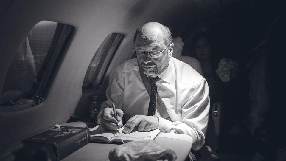 Martin Schulz und sein Rennen ums Kanzleramt