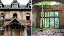 Ein heruntergekommenes Gebäude