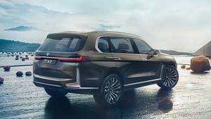 BMW X7 Concept 2017 - Ein Plug-In-Hybrid scheint nach der IAA-Studie gesetzt