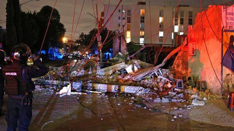 Mindestens 15 Todesopfer - Tsunamigefahr - Hafenort evakuiert: die Lage in Mexiko