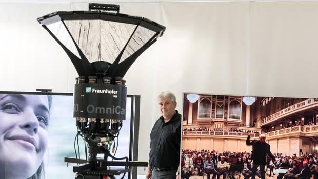 Der Berliner Wissenschaftler Peter Kauff lässt weltweit spektakuläre 360-Grad-Videos drehen
