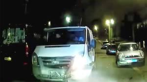 Großbritannien: Fluchtwagen rammt Polizeiauto - vom Jäger zum Gejagten