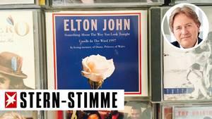 Elton Johns legendärer Diana-Tribute steht selbstverständlich auch in Frank Behrendts CD-Sammlung