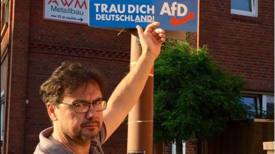 """Heiko Senking: Der Bürgermeister von Ebstorf über seine Anti-AfD-Aktion: """"Wahl zwischen Pest und Cholera"""""""