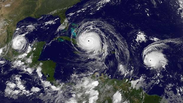 """Hurrikan """"Irma"""" ist inzwischen in Kuba auf Land getroffen"""