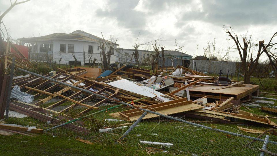 """Hurrikan """"Irma"""" sorgte für Zerstörung auf der Antillen-Insel Barbuda"""