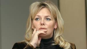 Ex-Tagesschau-Sprecherin Eva Herman bei einer Buchvorstellung 2003