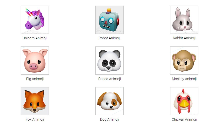 Diese Emojis können auf dem iPhone 8 mit dem Gesichtsausdruck des Nutzers verändert werden.
