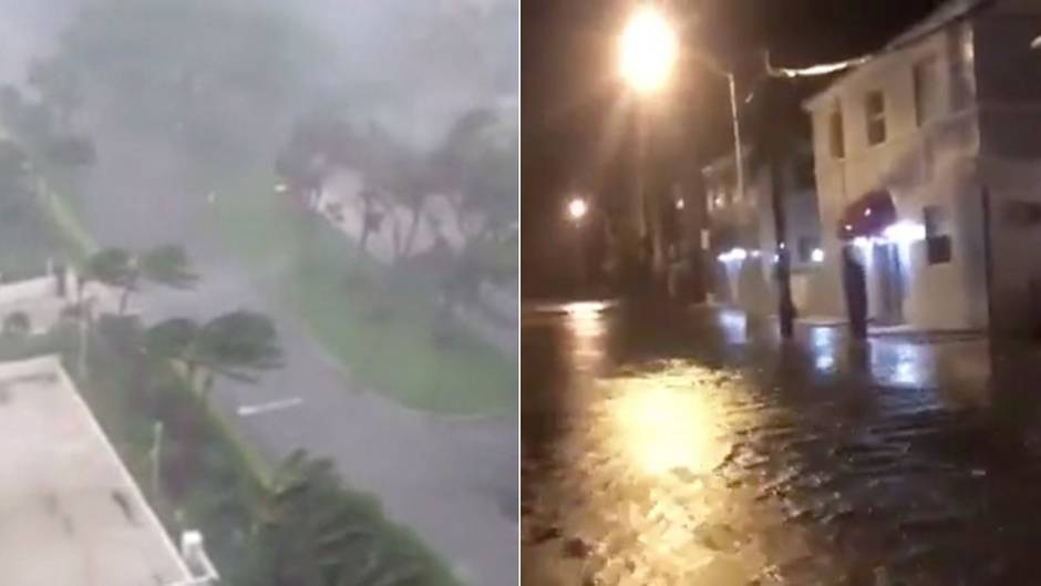 """Fluten in Miami, Tornados in Fort Lauderdale: Hier trifft Hurrikan """"Irma"""" auf Floridas Ostküste"""