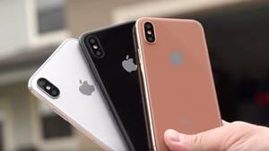 So stellen sich einige Designer das iPhone X von Apple vor.