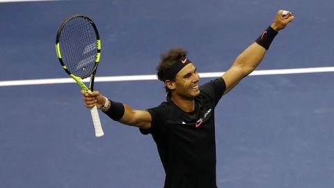 Rafael Nadal im US-Open-Finale gegen Kevin Anderson
