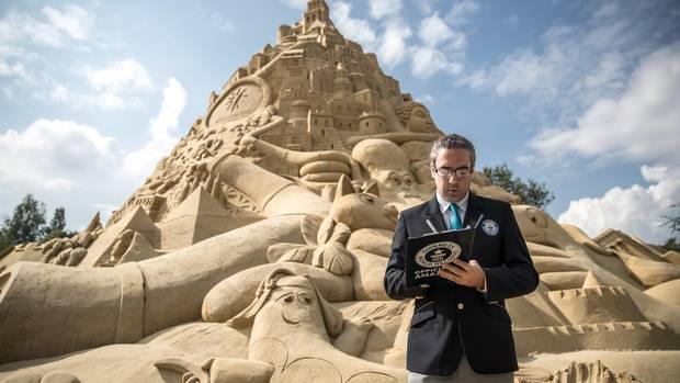 nachrichten Deutschland - Die Duisburger Sandburg steht im Guinness Buch der Rekorde