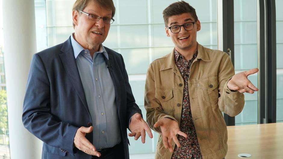 Ralf Stegner trifft Neon-Autor Miguel Robitzky
