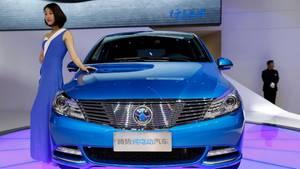 Schon heute verordnet die Regierung in China den Anteil an E-Fahrzeugen.