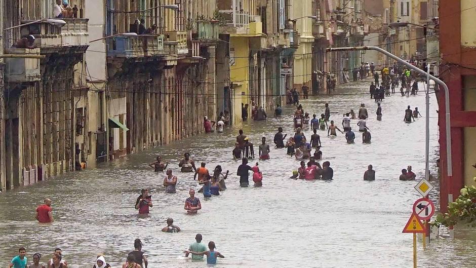"""Mindestens zehn Tote durch Hurrikan """"Irma"""" in Kuba"""