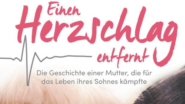 """Buchcover """"Einen Herzschlag entfernt"""" von Tracie Frank Mayer"""