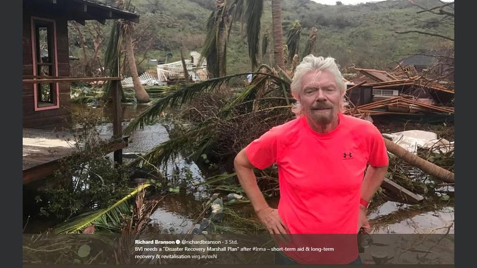 Richard Branson Irma
