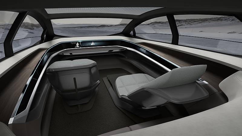 Der Innenraum des Audi Aicon 2017