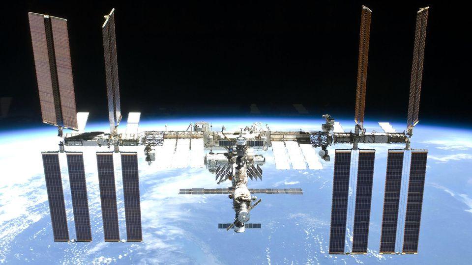 Die Raumstation ISS war gestern Abend besonders starker Sonnenstrahlung ausgesetzt