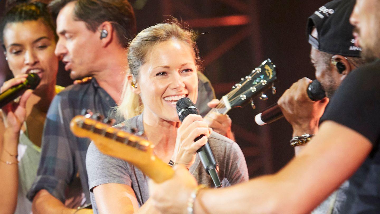 Helene Fischer probt für ihre neue Tournee in der Dortmunder Westfalenhalle