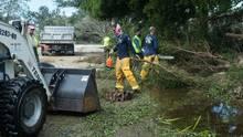 Aufräumen nach Hurrikan Irma in Florida