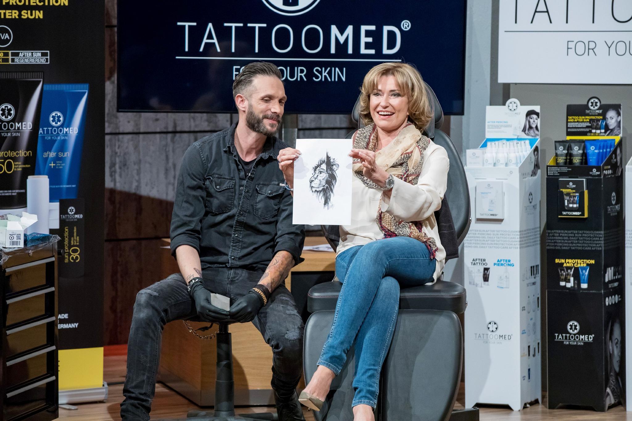 """TattooMed aus """"Die Höhle der Löwen"""" im Test: """"Ein Werbe-Gag ... - Tattoo Pflege Bepanthen"""