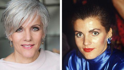 Typveränderung: Birgit Schrowange - damals und heute