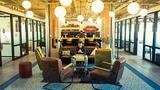 Talente ziehen Start-ups an – und umgekehrt: Büros von Mindspace an der Friedrichstraße