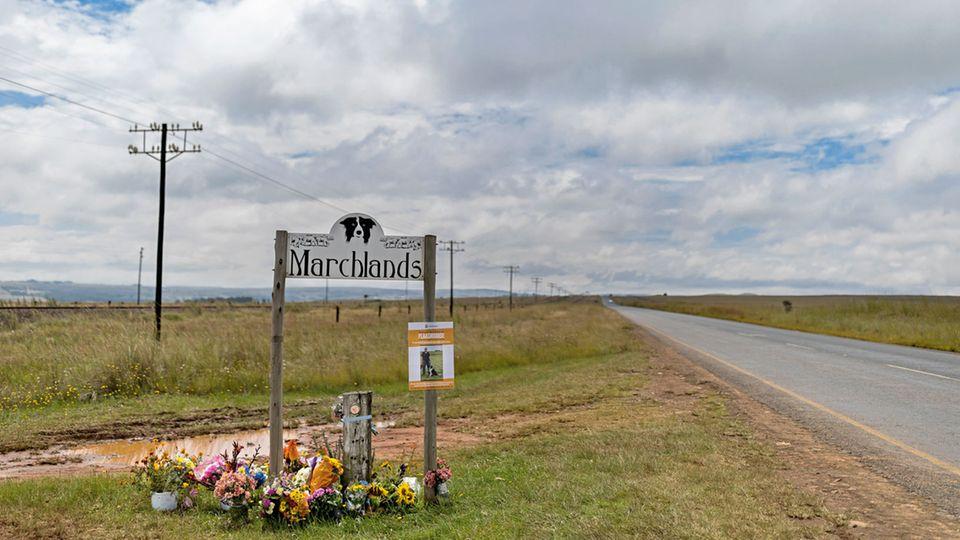 """Auf dem Gut """"Marchlands"""" wurde Sue Howarth erschossen."""