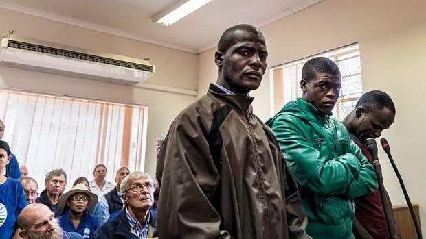 Die Täter, hier im Gerichtssaal, kannten sich bei aus: Einer war der Cousin eines Farmarbeiters von Robert Lynn