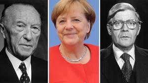 Adenauer bis Merkel: Das sind Deutschlands Bundeskanzler (a.D.)