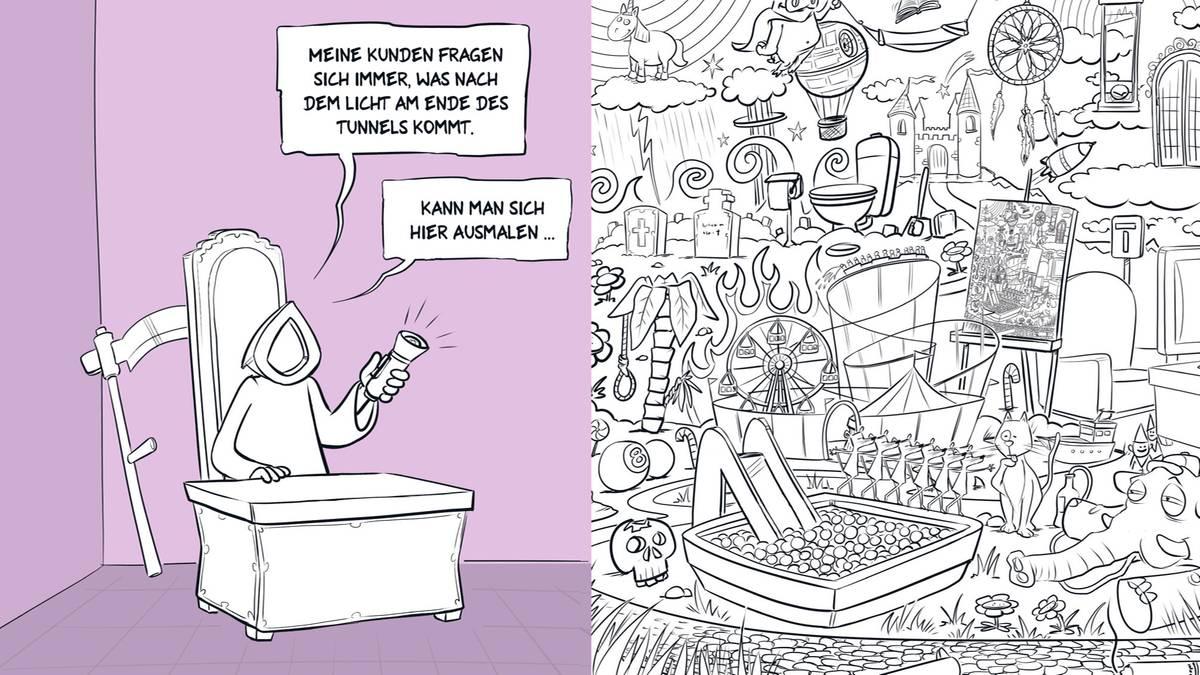 Malbuch des Todes | STERN.de