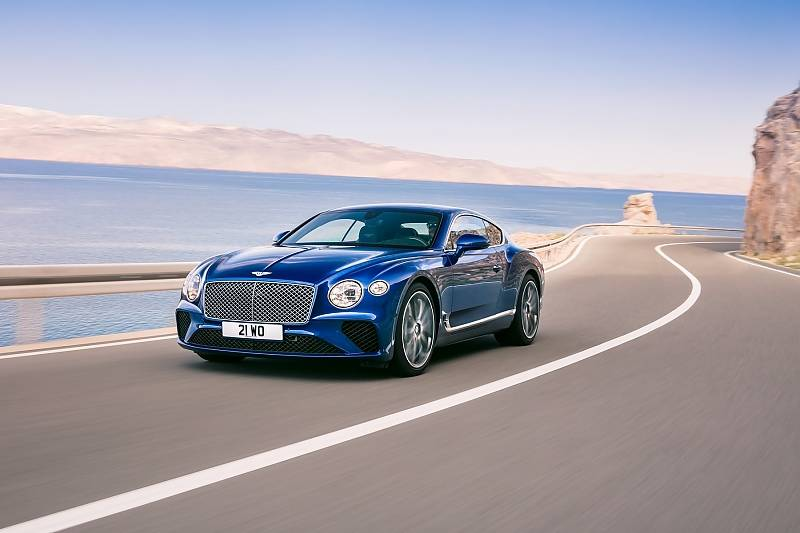 Der neue Bentley Continental wurde lange erwartet