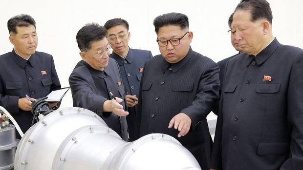 """Nordkorea: """"Nicht die Atombomben sind so gefährlich, sondern die konventionellen Waffen"""""""