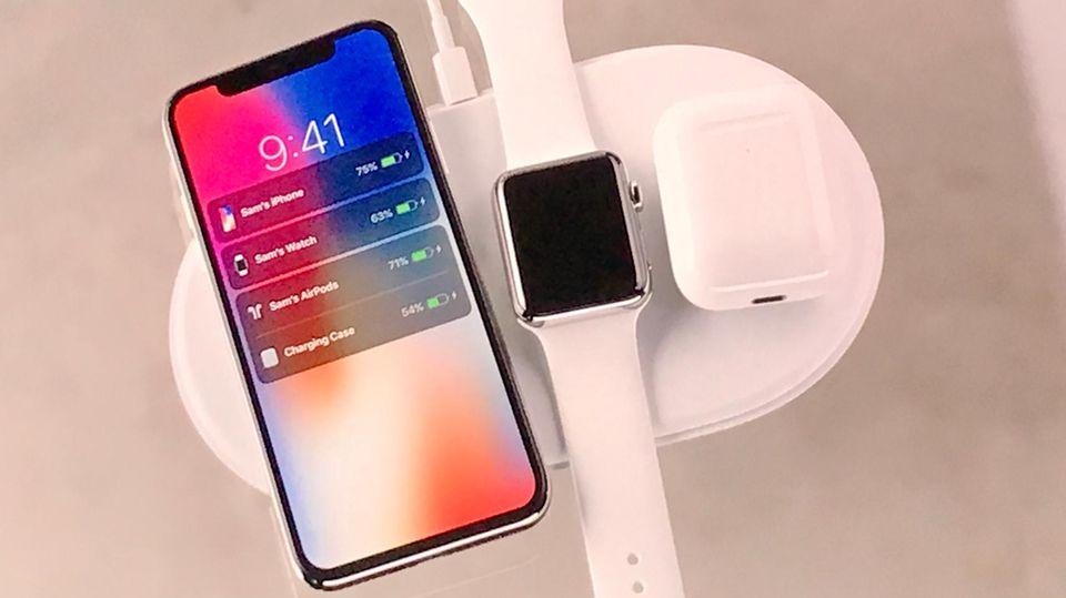 Air Power iPhone 8