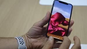 """Mit seinem """"Super Retina""""-Display mit 2436 x 1125 Bildpunkten ist das iPhone X das bisher höchstauflösende iPhone"""
