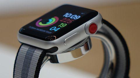 Die Apple Watch Series 3 mit LTE-Unterstützung