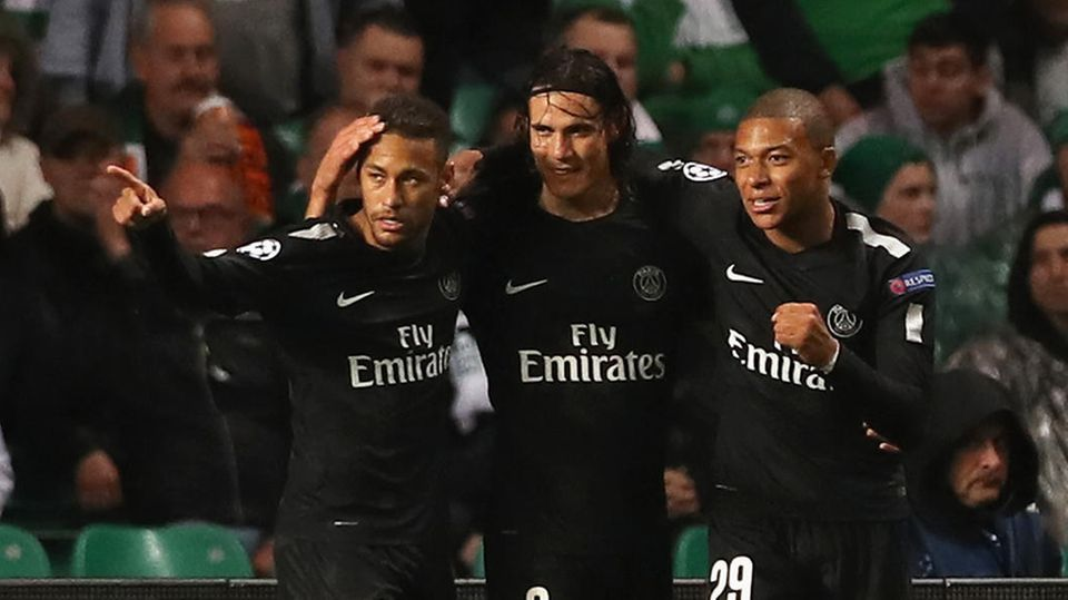 Neymar, Cavani, und Mbappe trafen gegen Celtic - Paris St. Germain dominiert nach belieben