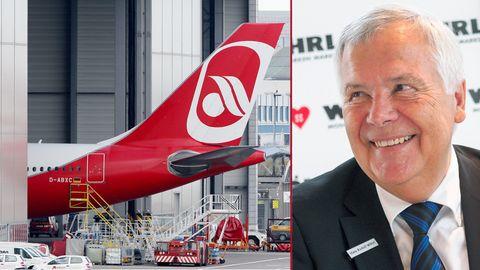 """Vorwürfe gegen Lufthansa und Regierung: Unternehmer Wöhrl zur Air-Berlin-Rettung: """"Der Deal ist nicht sauber"""""""