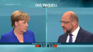 TV-Duell: Angela Merkel lehnt ein zweites Duell ab