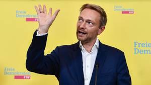 Christian Lindner, Spitzenkandidat der FDP