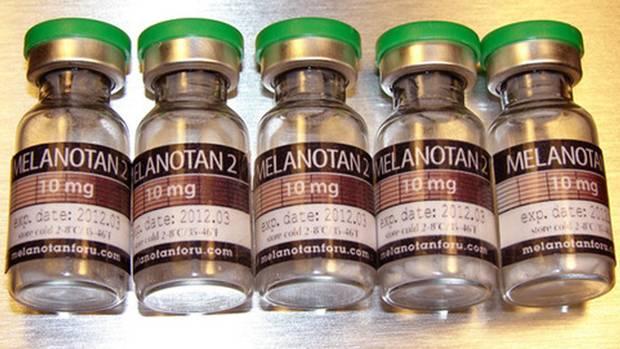 Auf dem Schwarzmarkt wird der Wirkstoff Melanotan als Selbstbräunungspulver verkauft