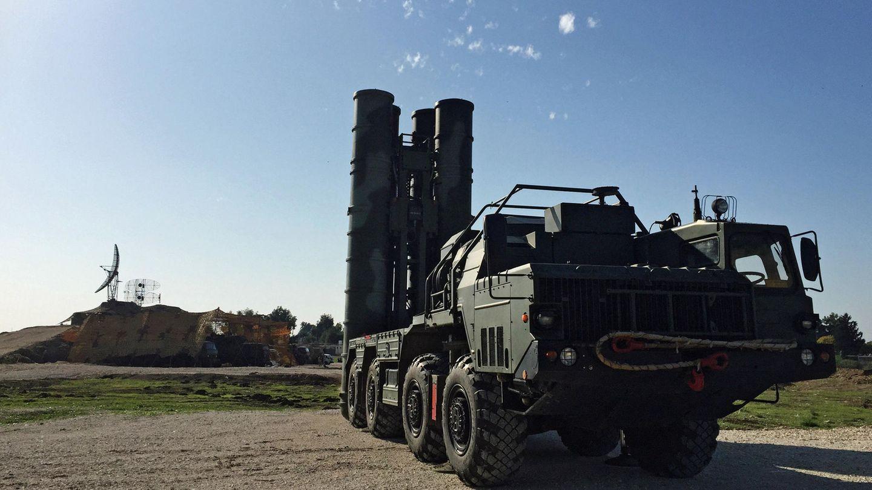 Diese S-400 wurde in Syrien aufgestellt.