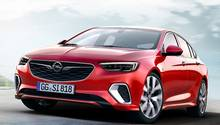 Die Modellpalette, hier der Opel Insignia GSi, wird elektrifiziert