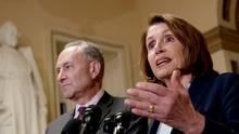 US-Demokraten verkünden Deal mit Trump - der auch den Bau der Mauer ausschließen soll