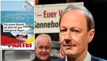 Sonneborn Wahlplakat