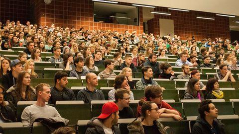 Erstsemesterbegrüßung zum Start des Sommersemesters 2017 an der Ostbayrischen Technischen Hochschule Regensburg