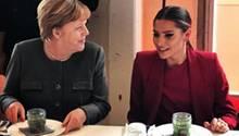 Angela Merkel, Sophia Thomalla